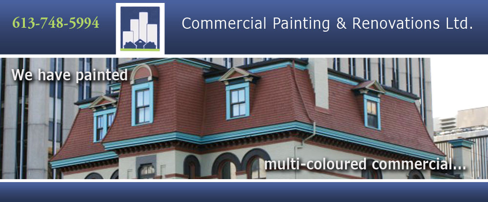 Commercial Painting & Renovations Ltd. - Interior & Exterior Painting Companies & Contractors in Ottawa